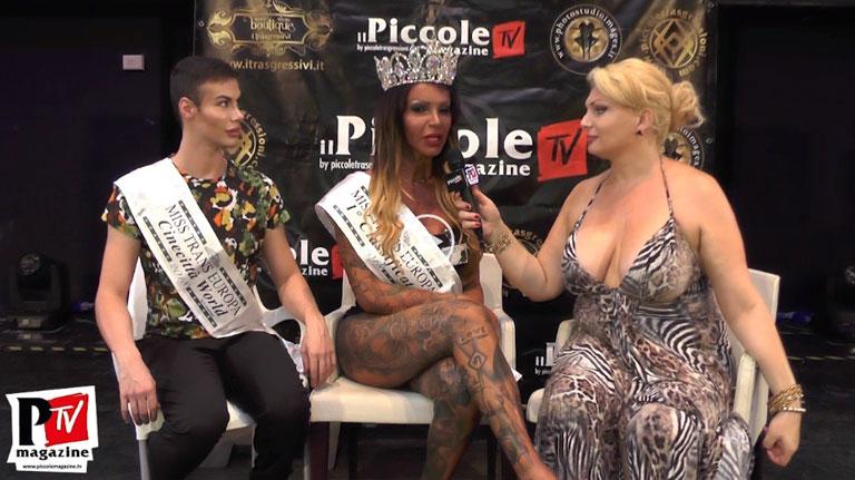 Intervista Sara Finizio Miss Trans Europa 2018