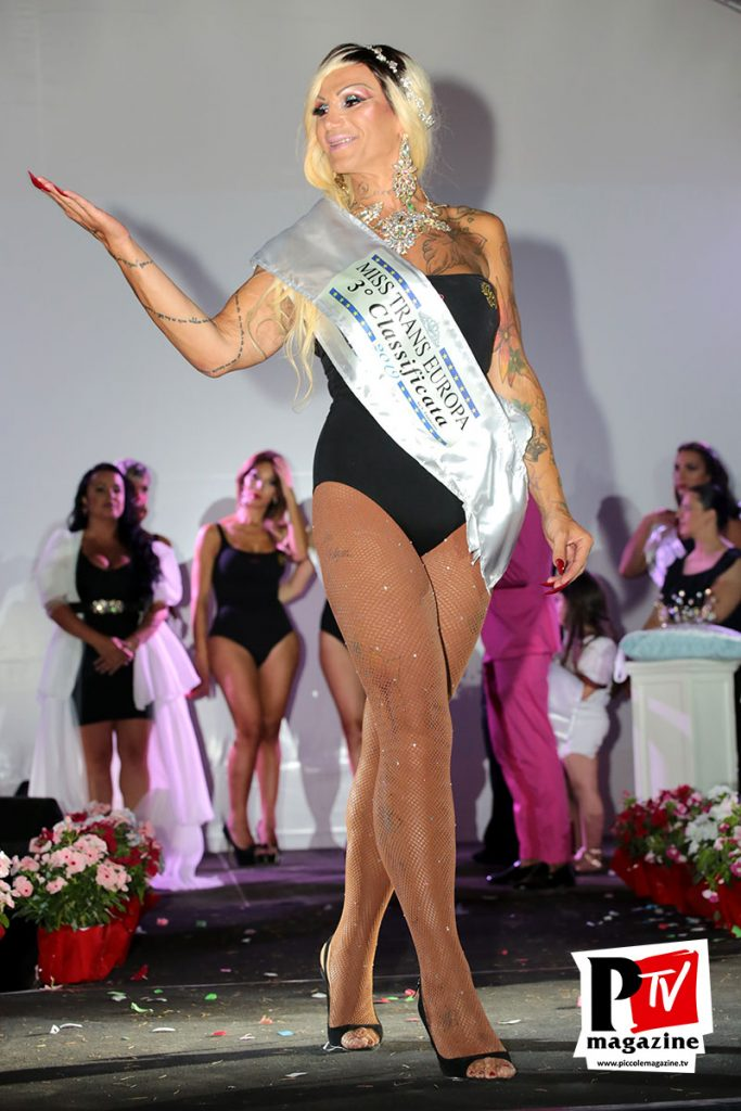 Felisia Bulgari eletta terza classificata Miss Trans Europa 2019